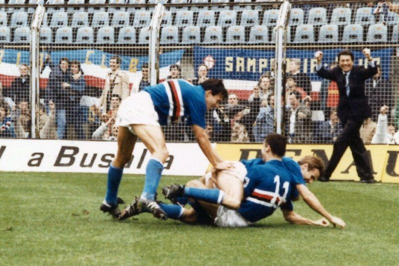 Sampdoria – Partite 1986/87