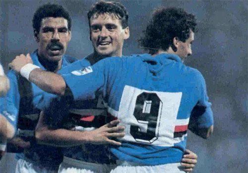 Sampdoria – Partite ufficiali 1988/89