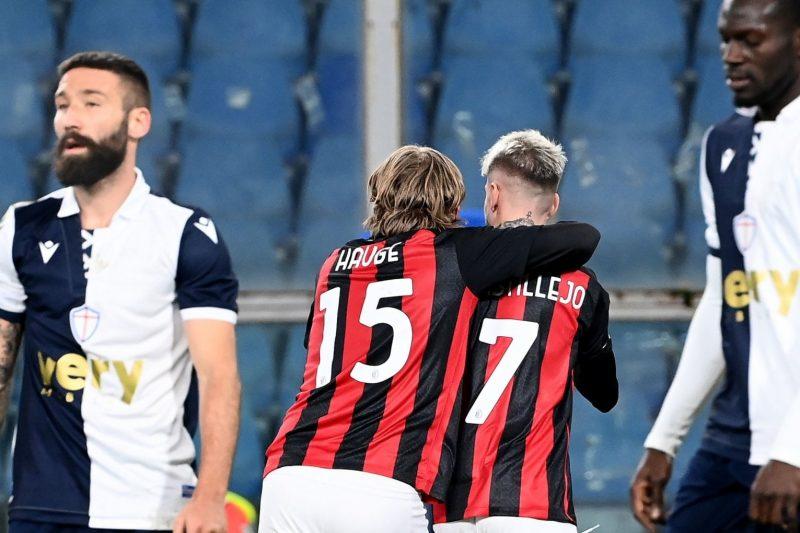 Sampdoria-Milan 1-2: video di azioni e interviste