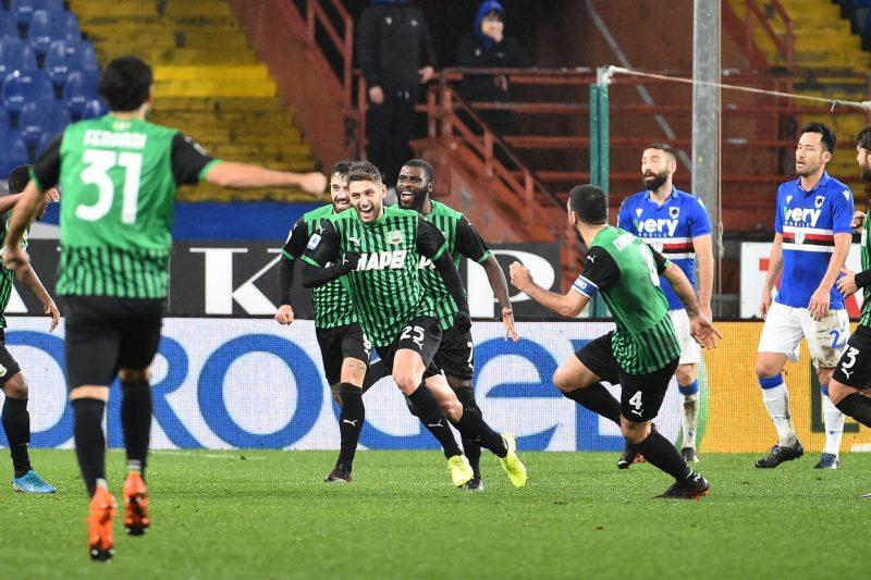 Sampdoria-Sassuolo 2-3: commento e pagelle