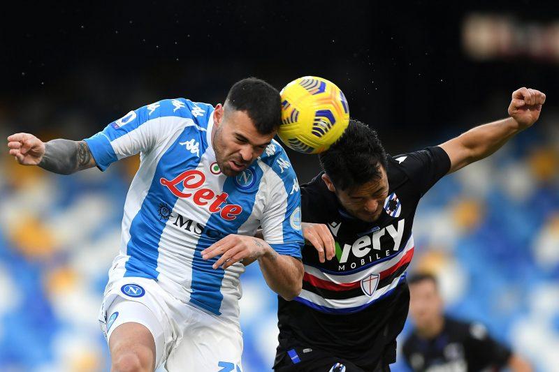 Napoli-Sampdoria 2-1: video di azioni e interviste