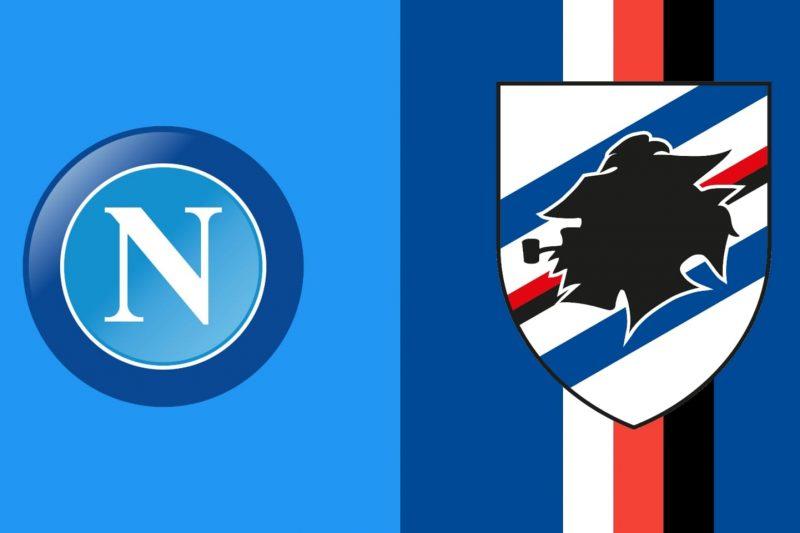 Napoli-Sampdoria: formazioni ufficiali e conferenze