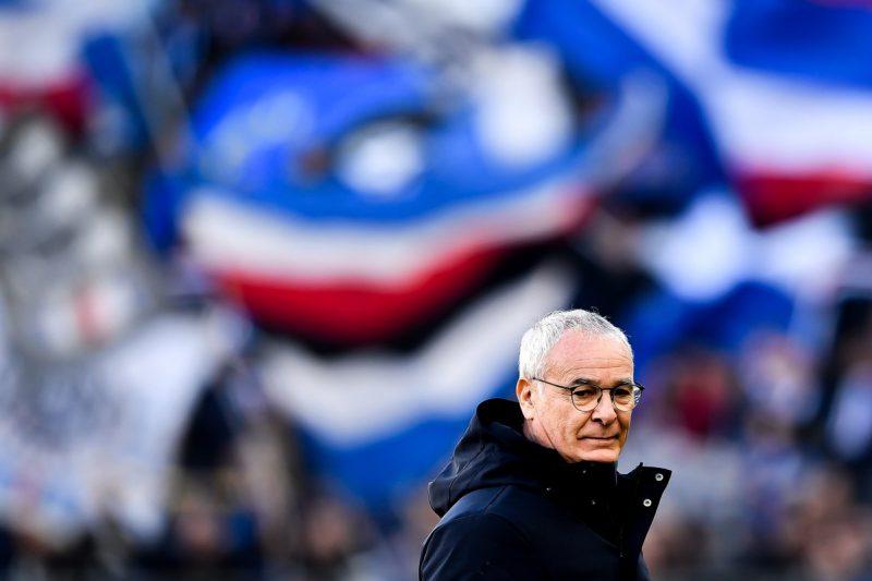 Claudio Ranieri e l'allergia ai pareggi con la Samp