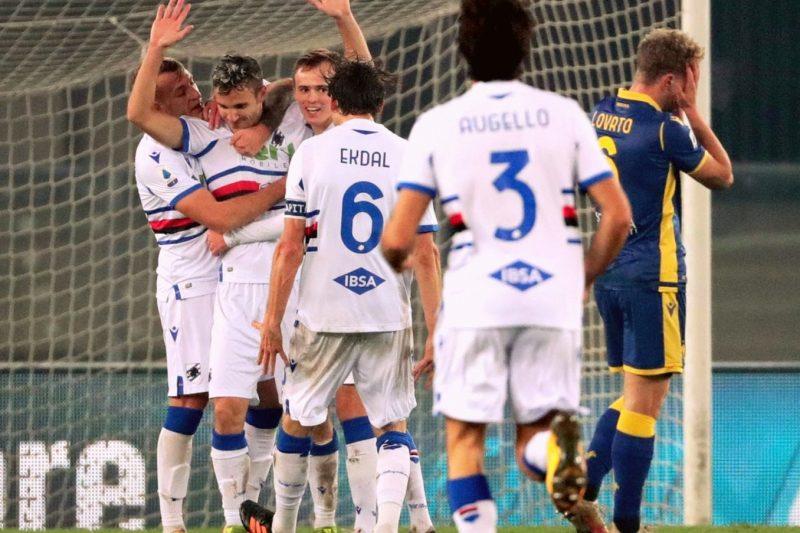 Hellas Verona-Sampdoria 1-2: commento e pagelle