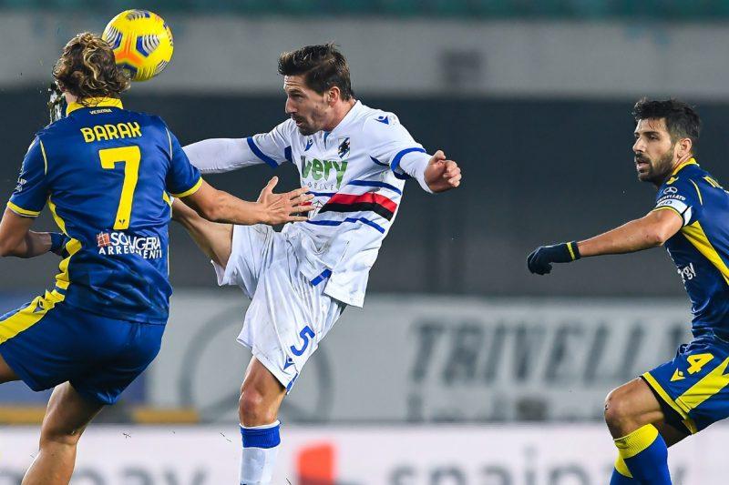 Hellas Verona-Sampdoria 1-2: video di azioni e interviste