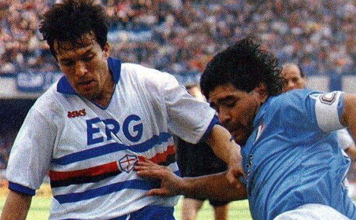 Serie A 1990/91: Napoli-Sampdoria 1-4