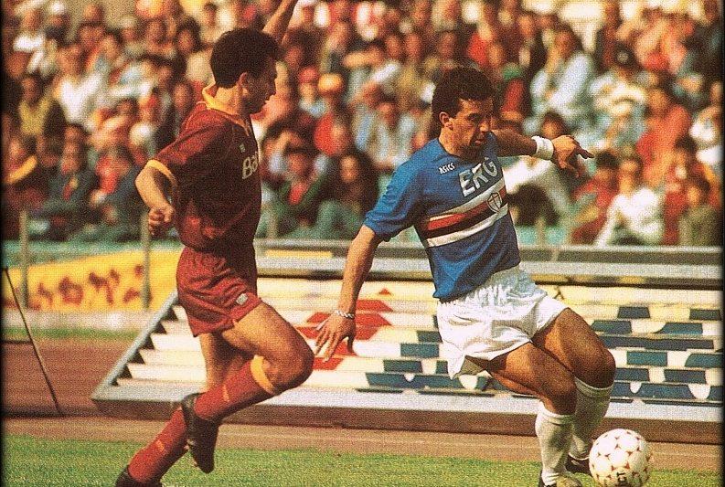 Serie A 1990/91: Roma-Sampdoria 0-1