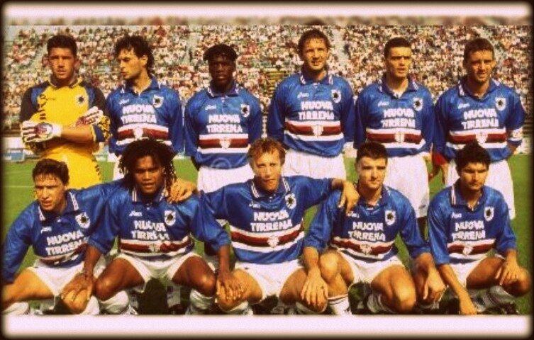 Sampdoria – Partite ufficiali 1995/96
