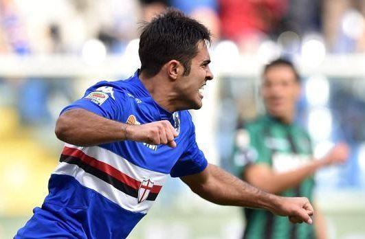 Serie A 2014/15: Sampdoria-Sassuolo 1-1
