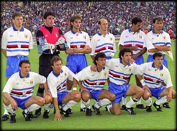 Sampdoria – Partite ufficiali 1991/92