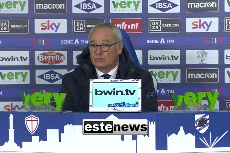 Sampdoria-Inter 2-1: video di azioni e interviste