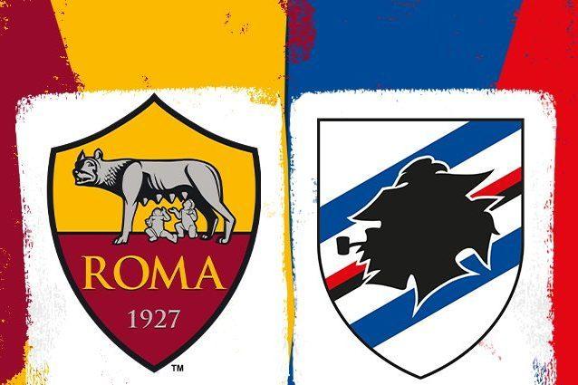 Roma-Sampdoria: formazioni e conferenze