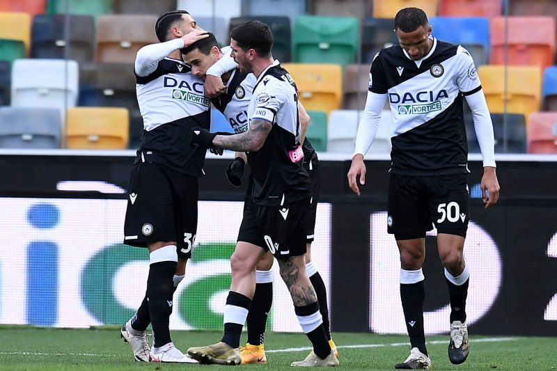Analisi sull'Udinese 2020/21 (andata)