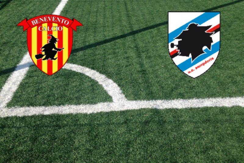 Benevento-Sampdoria: formazioni e conferenze