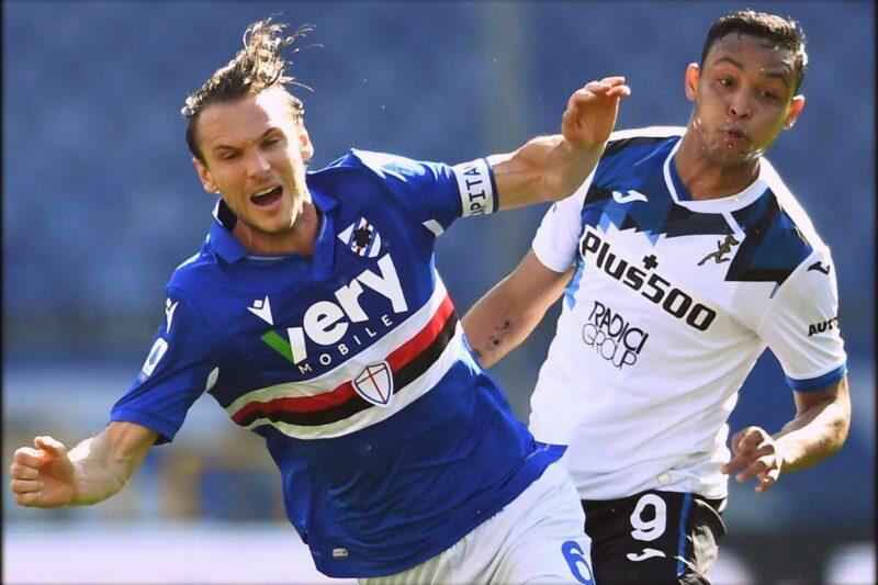 Sampdoria-Atalanta 0-2: commento e pagelle