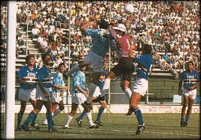 Serie A 1989/90: Lazio-Sampdoria 0-2