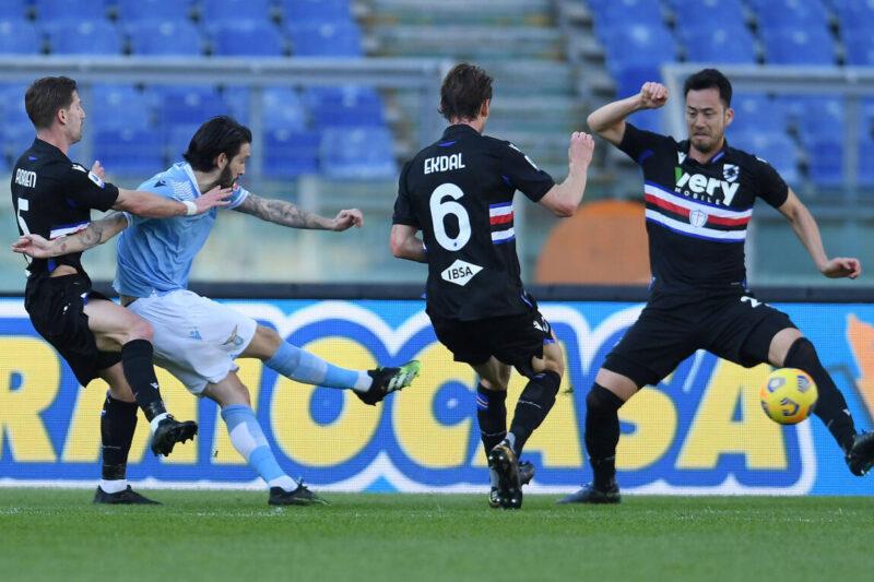 Lazio-Sampdoria 1-0: commento e pagelle