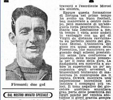 Serie A 1957/58: Sampdoria-Fiorentina 3-1