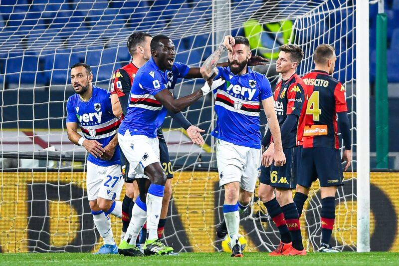 Genoa-Sampdoria 1-1: rassegna video
