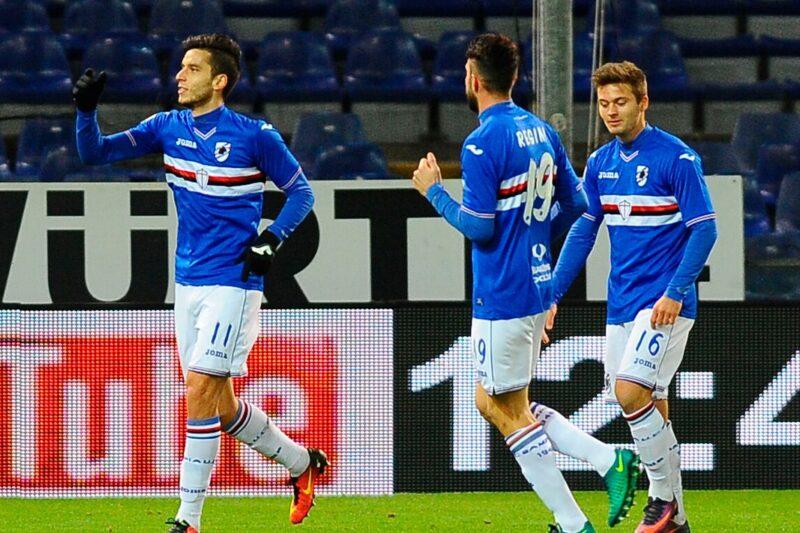 Coppa Italia 2016/17: Sampdoria-Cagliari 3-0