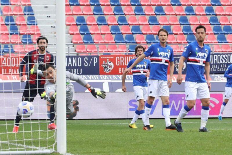 Serie A 2020/21: Bologna-Sampdoria 3-1