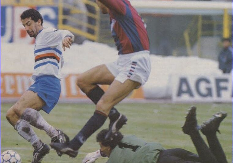 Serie A 1990/91: Bologna-Sampdoria 0-3