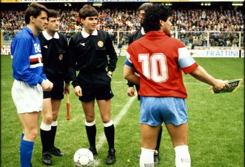 Serie A 1990/91: Sampdoria-Napoli 4-1