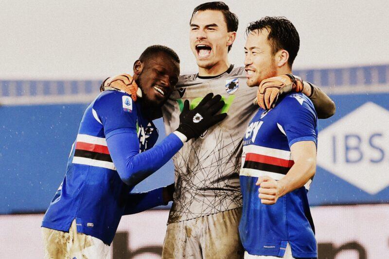 Sampdoria 2020/21: statistiche e medie voto finali