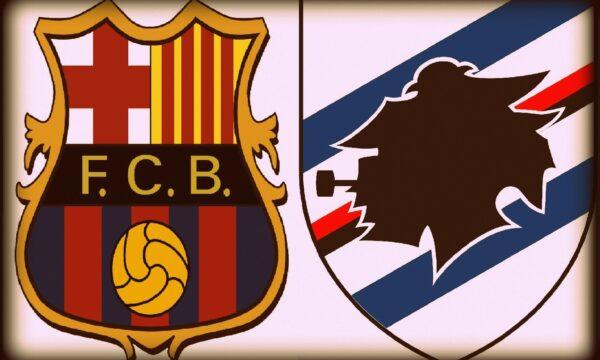 Amichevoli 2012/13: Barcelona-Sampdoria 0-1
