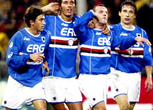Sampdoria: Partite ufficiali 2002/03